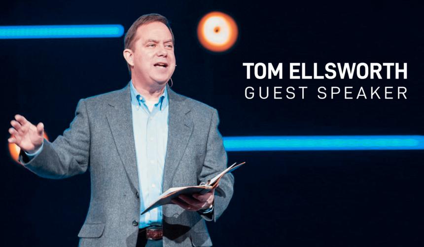 GUEST SPEAKER (TOM ELLSWORTH) – THANKFUL